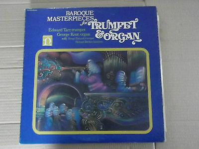 Baroque Masterpieces for TRUMPET & ORGAN - TARR / KENT LP H-71279