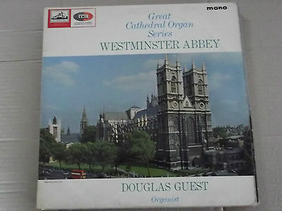 DOUGLAS GUEST - WESTMINSTER ABBEY (great cathedral organ series) LP CLP 1788