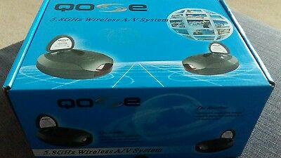 Qose 5.8Ghz wireless video sender and receiver