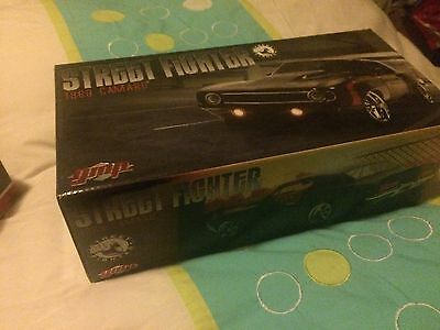 1:18 GMP 1969 Chevrolet Camaro Street Fighter Black And Red BRAND NEW