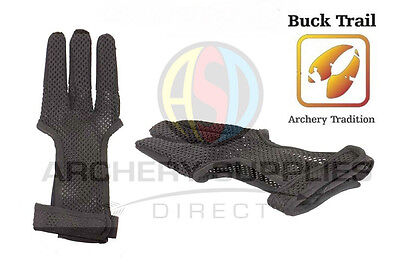 Buck Trail Synthetic Full Palm Lightweight Summer Mesh Archery Glove