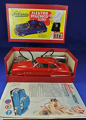 Blechauto-Tin Car SCHUCO Electro Ingenico 5380, 1950er / -ies, U.S Zone Germany