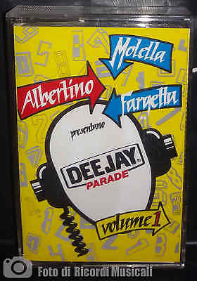 MC DEEJAY PARADE VOLUME 1 vol Albertino Fargetta Molella (1993)