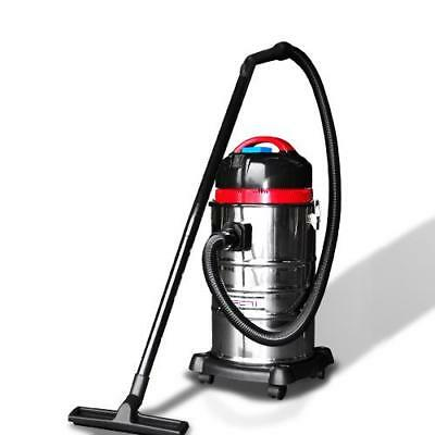 Stainless Steel 30L Wet&Dry Vacuum Cleaner and Blower -1400W Bagless Drywall