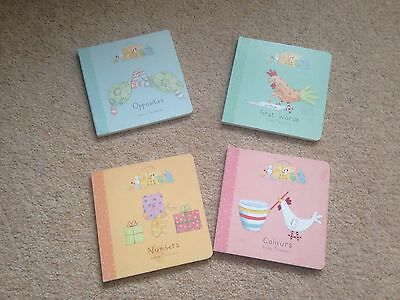 4x Isabella's Toy box Baby Books Numbers Colours First Words Opposites.