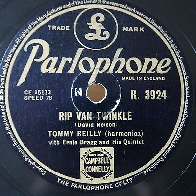 """jazz & dance: Tommy REILLY, Harmonica, Parlophone R3924 """"THE HIGH AND THE MIGHTY"""