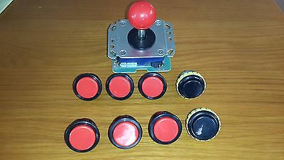 Seimitsu fightstick and 8 buttons