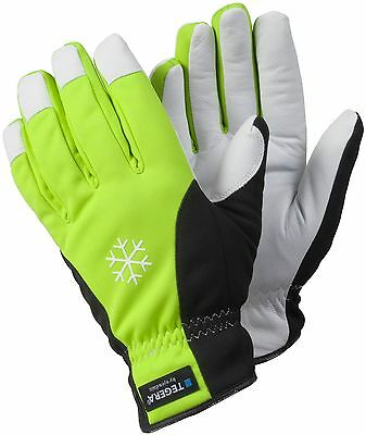 Tegera By Ejendals 293 Lined Leather Waterproof Drivers Style Gloves