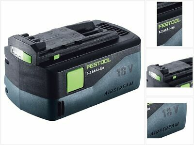 Festool BP 18 Li 5,2 AS 18V 5,2 Ah Akkupack Li-Ion Akku Airstream Technologie