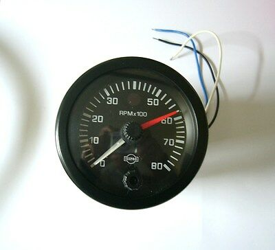 """R55111 ISSPRO 3 3/8"""" Dia (EV Series) 0-8000  Ignition Tachometer with Shiftlite"""