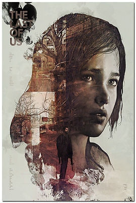 The Last of Us Art Wall Silk Poster 24x36 inch
