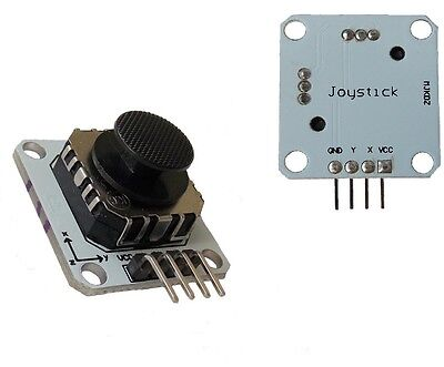 1PCS PSP 2-Axis Analog Thumb GAME Joystick Module 3V-5V For arduino PSP New