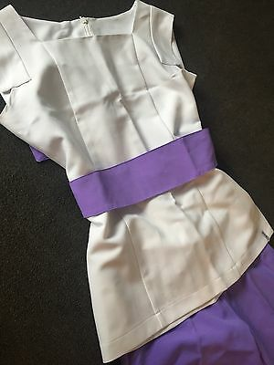 Florence Roby Beauty Therapy Hairdresser Spa Uniform Tunic Size 10