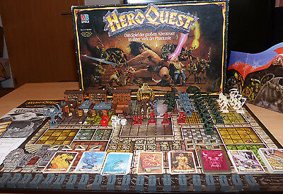 Hero Quest Brettspiel