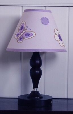 GEENNY Lamp Shade Lavender Butterfly 13-piece Crib Bedding Set 65% Polyester