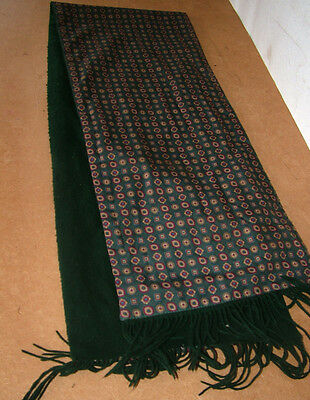 Mens Vintage 1960s Rayon Paisley Tootal Style Scarf