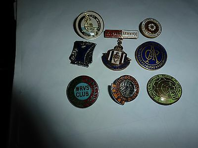 vintage mixed badges