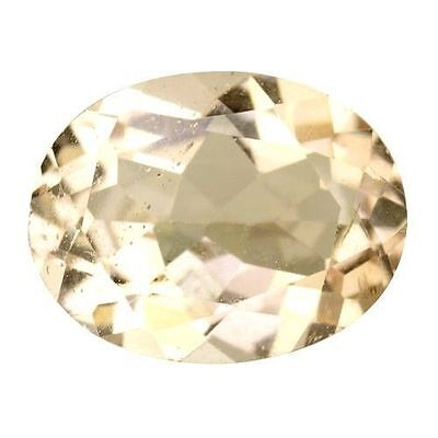 1.645Cts Gorgeous Amazing Peach Pink Natural Morganite Oval Loose Gemstones