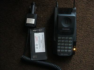 Blaupunkt Vintage Mobile Phone and Charger + In-Car Charger