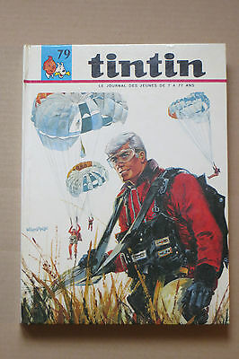 Recueil journal TINTIN N° 79  Reliure France SUPERBE