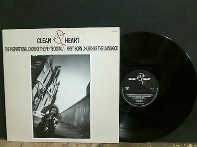 "INSPIRATIONAL CHOIR OF THE PENTECOSTAL FIRST BORN Clean Heart    E.P.   12""   EX"