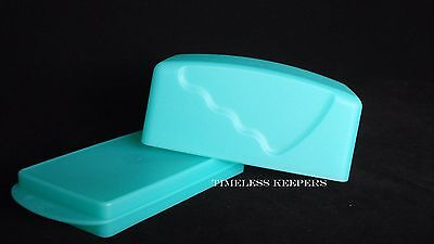 Free Ship Tupperware Impressions Covered Butter Dish store & serve keeper NEW