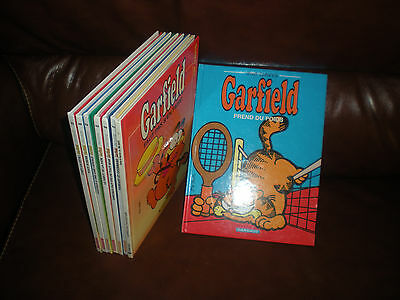 Garfield - Lot De 8 Tomes