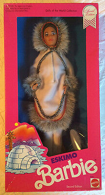 1990 ESKIMO BARBIE, Dolls of the World Collection, Special Edition