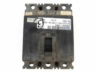 Square D 3-Pole, 60 Amp, 480V Circuit Breaker FAL34060
