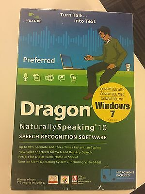 Nuance Dragon Naturally Speaking Preferred 10