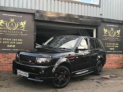 Land Rover Range Rover Sport 2.7 TD V6 HSE 2012 AUTOBIOGRAPHY - RED LEATHER