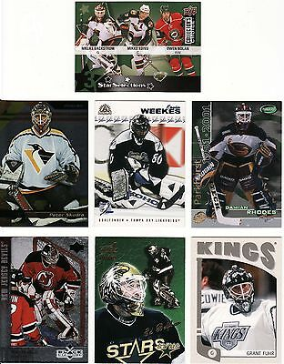 Netminder/goalie Cards, 7 X Different Nhl, Great Lot, 2.
