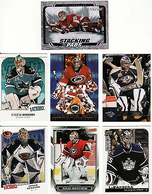 Netminder/goalie Cards, 7 X Different Nhl, Great Lot, 6.