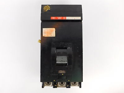 Square D 3-Pole, 400 Amp, 600V Circuit Breaker LH36400