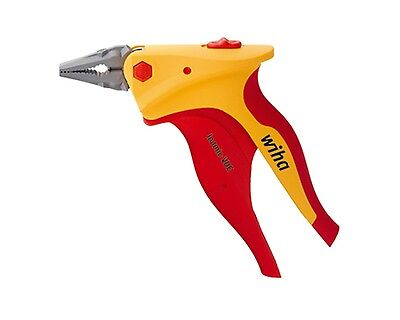 Wiha Z01916 Combination Plier VDE Insulated Inomic 180mm Made in Germany