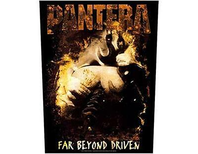 Official Licensed - Pantera - Far Beyond Driven Sew On Back Patch Metal Dimebag