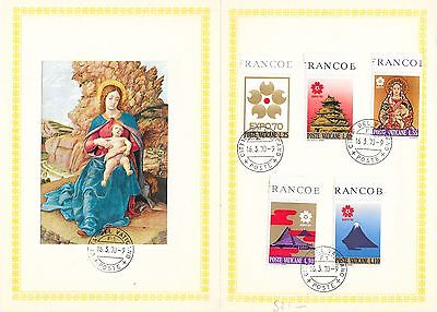 Collection of Vatican Stamps