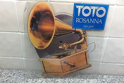 "Toto  "" Rosanna / It's A Feeling ""  Ex+  1982  Cbs 7""  Shaped Picture Disc"