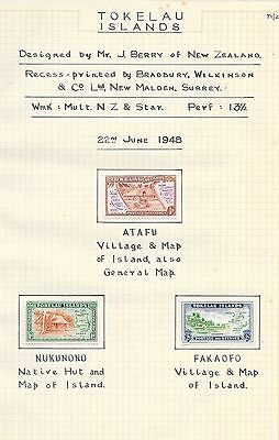 Collection of Tokelau Island Stamps