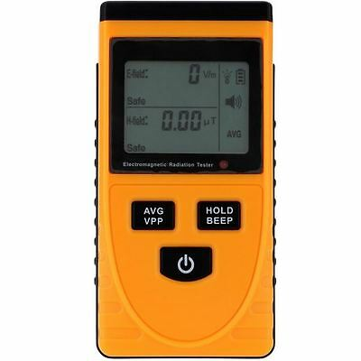 Electromagnetic Radiation Detector Tester Monitoring with LCD Display