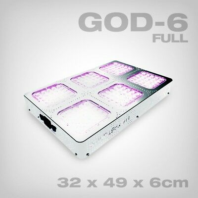 Budmaster II LED Grow Lampe GOD-6, 270W