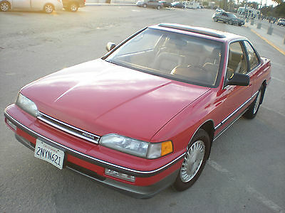 1989 Acura Legend Leather 1989 Acura Legend L Sports Coupe One Owner - Best Around - Survivor