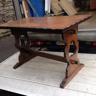 """VINTAGE table  ideal painting project shabby chic ect 4ft x 27"""""""