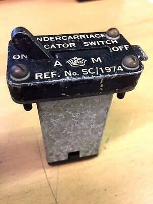 5c / 1974 RAF Lancaster Undercarriage indicator switch