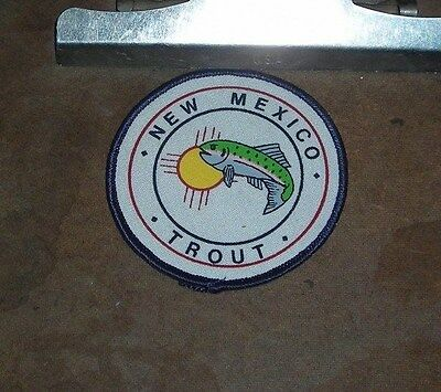 New Mexico Trout   --  Patch