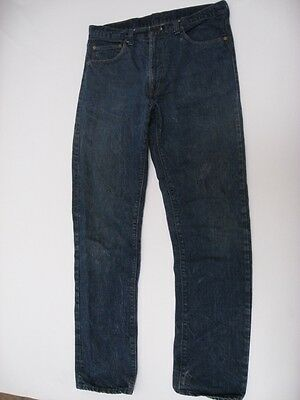 Vintage Levi's 505 Bar Tack Jeans USA MADE Tag Size 36 X 34