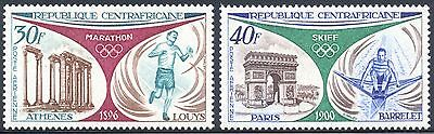Central African Republic Scott C105-9 mint never hinged