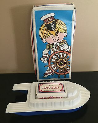 Avon Roto Boat Floating Soap Dish And Soap New In Box