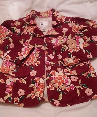Kids Floral  jacket aged 5 years. great condition