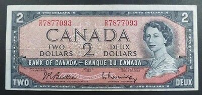 CANADA 2 dollars 1954.  Check my other listings Start at $0.99